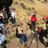 Mariana Torres en grupo a la cima del Iztaccíhuatl