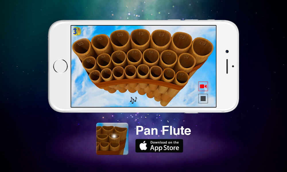 Aplicación Móvil Pan Flute