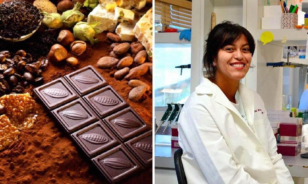 Adriana Miranda Cervantes estudiante mexicana premiada por su investigación sobre propiedades curativas del chocolate