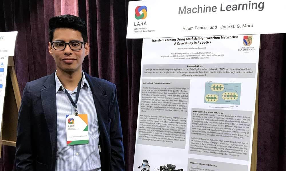 mexicano gana premio a la investigación de Google