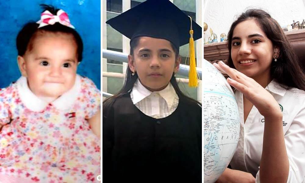 Crecimiento de Dafne Almazán Anaya como niña sobredotada
