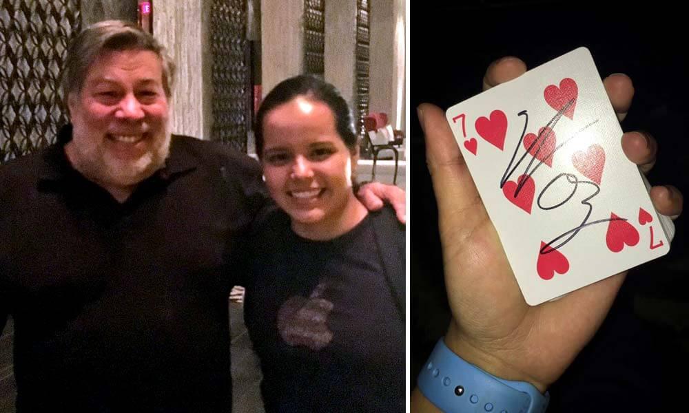 La primera vez que Alejandrina González se vio con Steve Wozniak