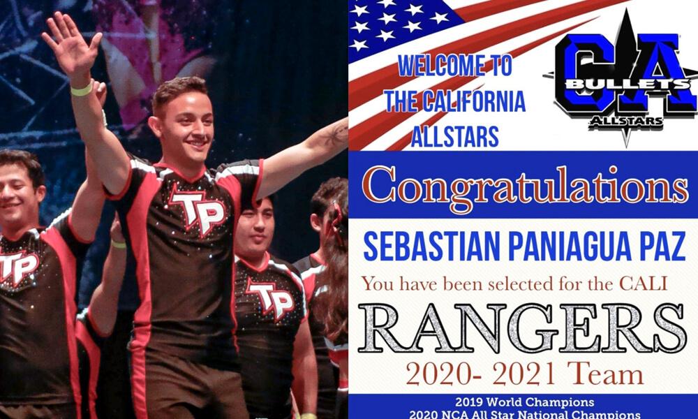 Sebastian Paniagua Paz es invitado a participar en California All Stars